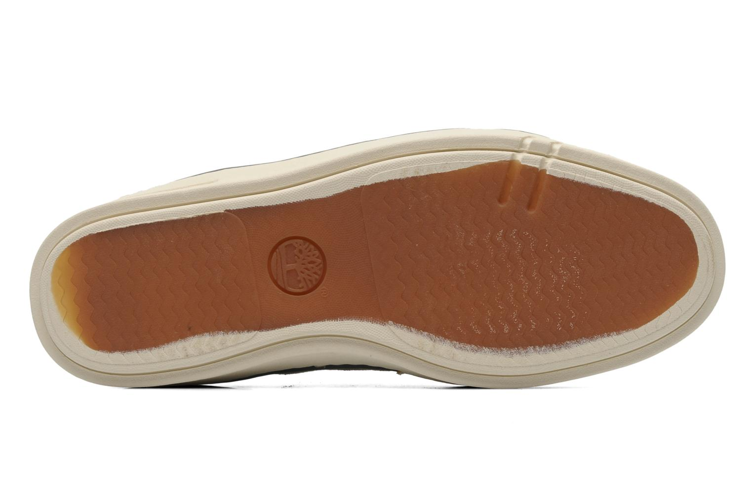 Sneakers Timberland Earthkeepers Hookset Handcrafted Canvas Ox Beige immagine dall'alto