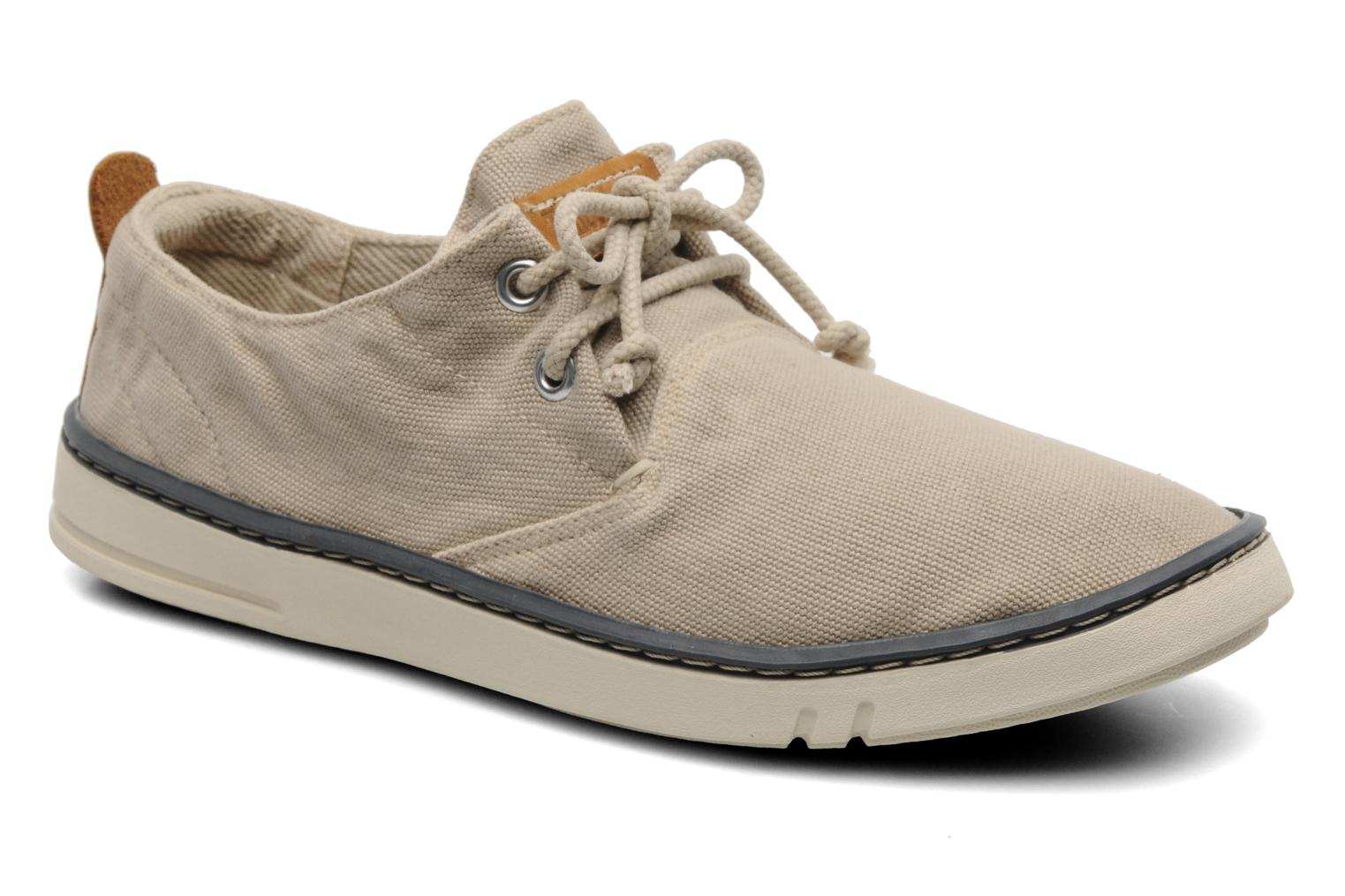 Trainers Timberland Earthkeepers Hookset Handcrafted Canvas Ox Beige detailed view/ Pair view
