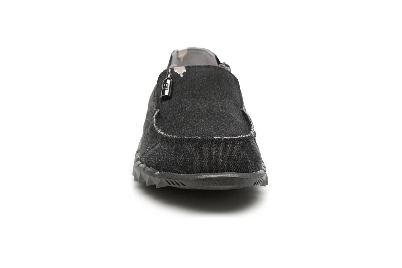 Mocassins DUDE Farty Classic Bleu vue portées chaussures