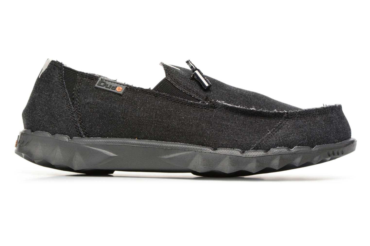 Mocassins DUDE Farty Classic Blauw achterkant