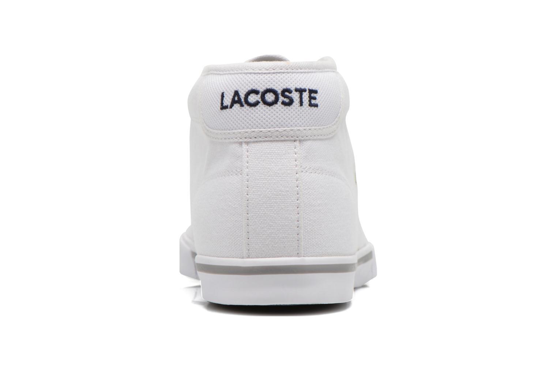 Baskets Lacoste Ampthill Lcr2 Blanc vue droite