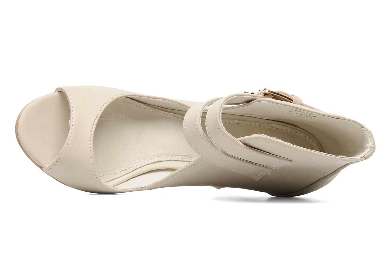 Sandales et nu-pieds Aldo Kay Beige vue gauche