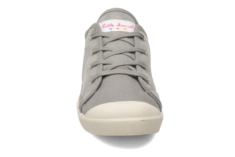 Sneaker Little Marcel Samba Glit silber schuhe getragen