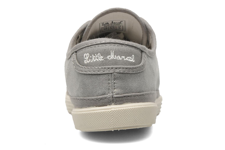 Sneaker Little Marcel Samba Glit silber ansicht von rechts