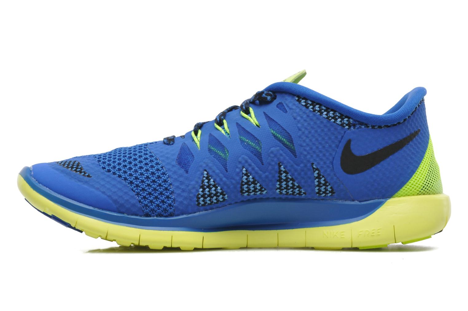 NIKE FREE 5.0 (GS) HYPR CBLT/BLCK-MDNGHT NVY-PHT