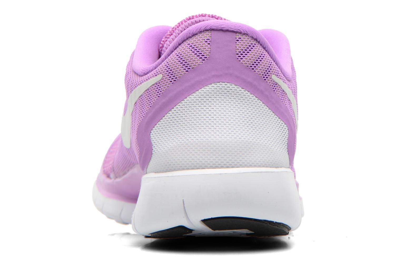 Baskets Nike NIKE FREE 5.0 (GS) Violet vue droite