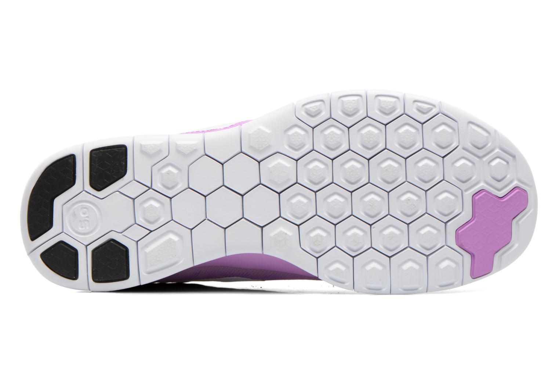 Baskets Nike NIKE FREE 5.0 (GS) Violet vue haut