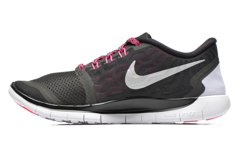 Sneakers Nike NIKE FREE 5.0 (GS) Nero immagine frontale