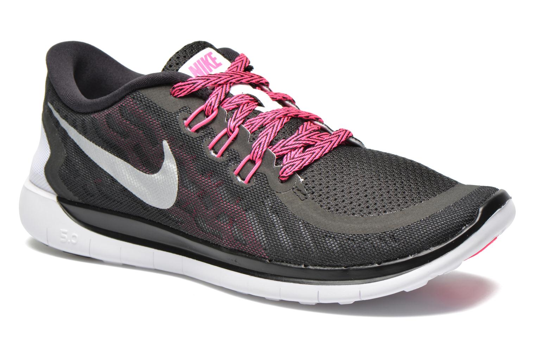 Baskets Nike NIKE FREE 5.0 (GS) Noir vue détail/paire