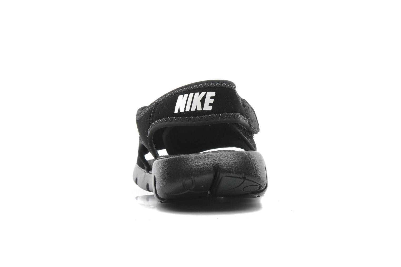 Sandales et nu-pieds Nike SUNRAY ADJUST 4 (GSPS) Noir vue droite