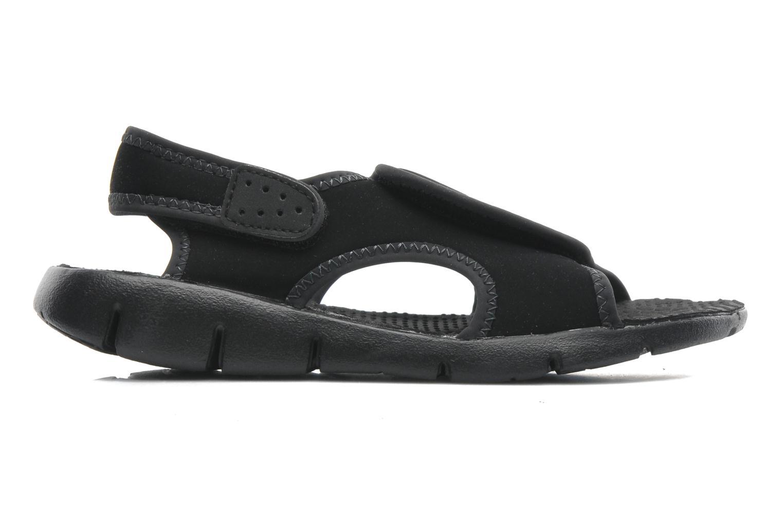 Sandali e scarpe aperte Nike SUNRAY ADJUST 4 (GSPS) Nero immagine posteriore