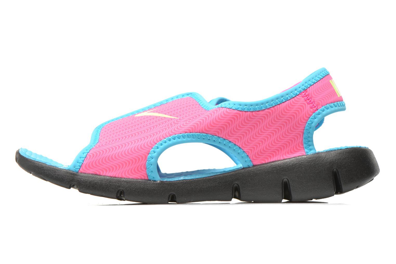 Sandalias Nike SUNRAY ADJUST 4 (GSPS) Rosa vista de frente