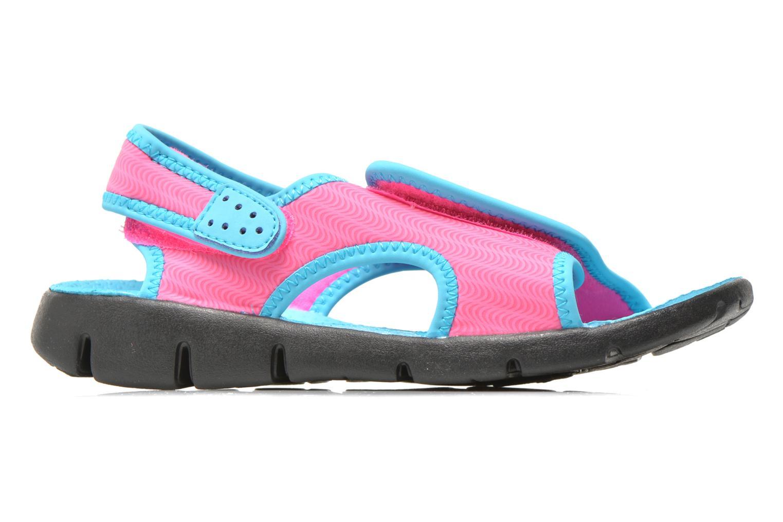 Sandales et nu-pieds Nike SUNRAY ADJUST 4 (GSPS) Rose vue derrière
