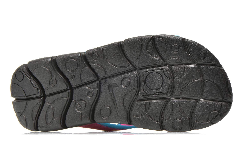 Sandales et nu-pieds Nike SUNRAY ADJUST 4 (GSPS) Rose vue haut