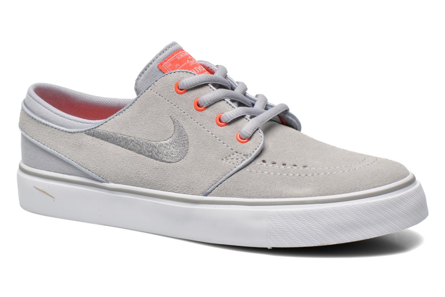 Trainers Nike Stefan Janoski (GS) Grey detailed view/ Pair view