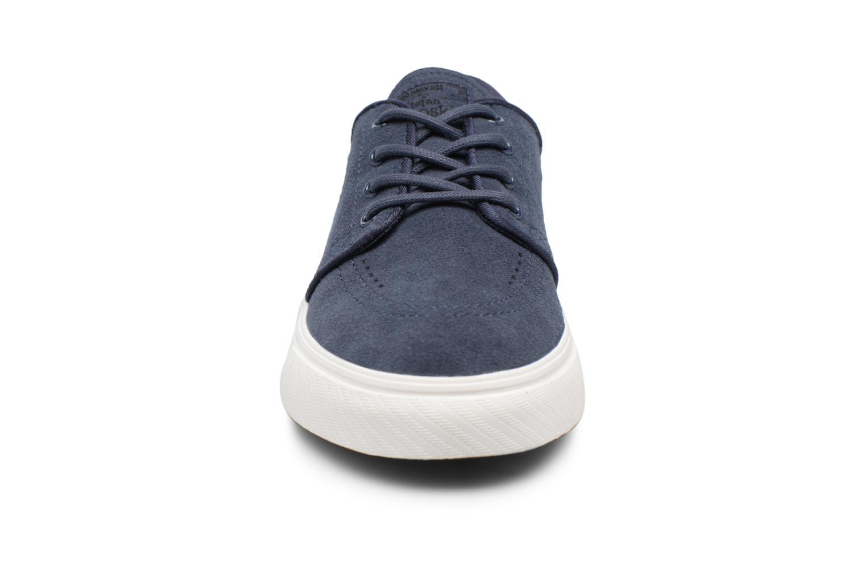 Baskets Nike Stefan Janoski (GS) Bleu vue portées chaussures