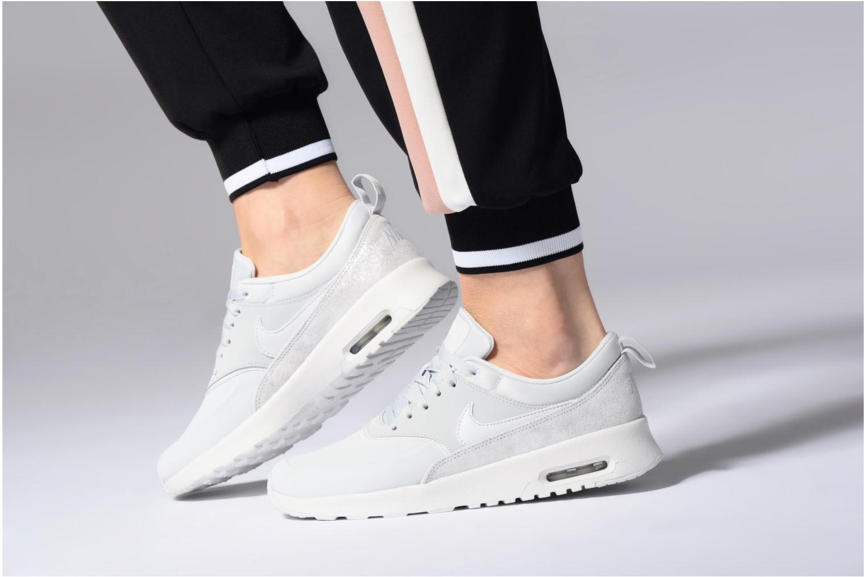 Wmns Nike Air Max Thea Prm White/White-Blue Tint