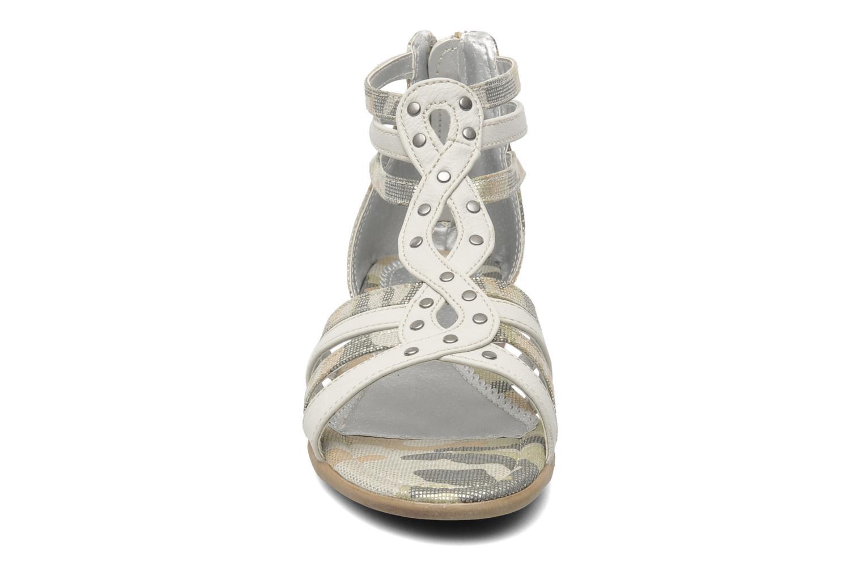 Sandales et nu-pieds I Love Shoes Adula Gris vue portées chaussures
