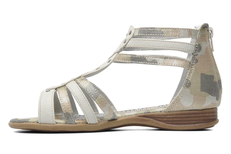 Sandales et nu-pieds I Love Shoes Adula Gris vue face
