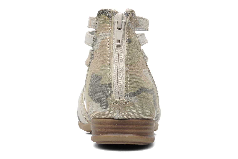 Sandalen I Love Shoes Adula grau ansicht von rechts