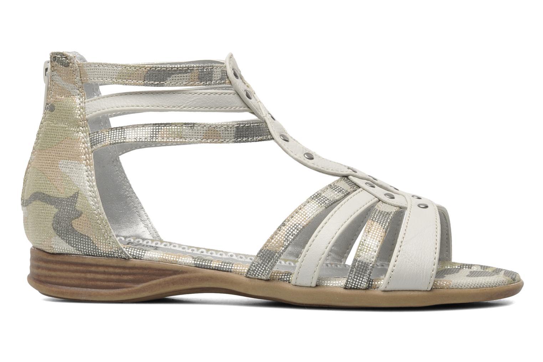 Sandales et nu-pieds I Love Shoes Adula Gris vue derrière