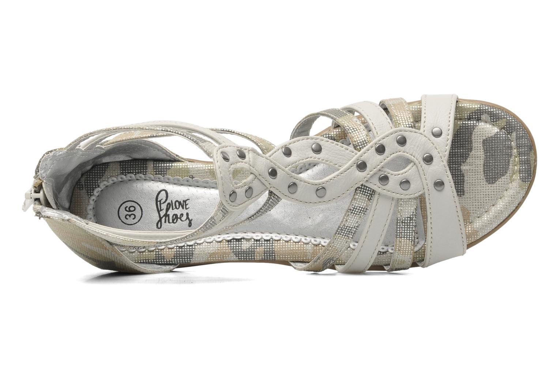 Sandales et nu-pieds I Love Shoes Adula Gris vue gauche