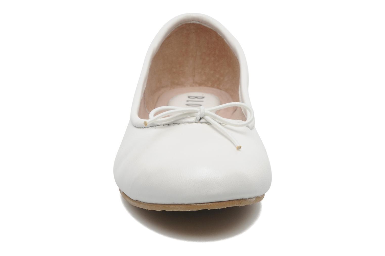 Ballerines Bloch Girls Arabella Blanc vue portées chaussures