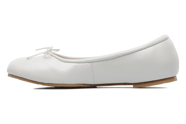 Ballerinas Bloch Girls Arabella weiß ansicht von vorne