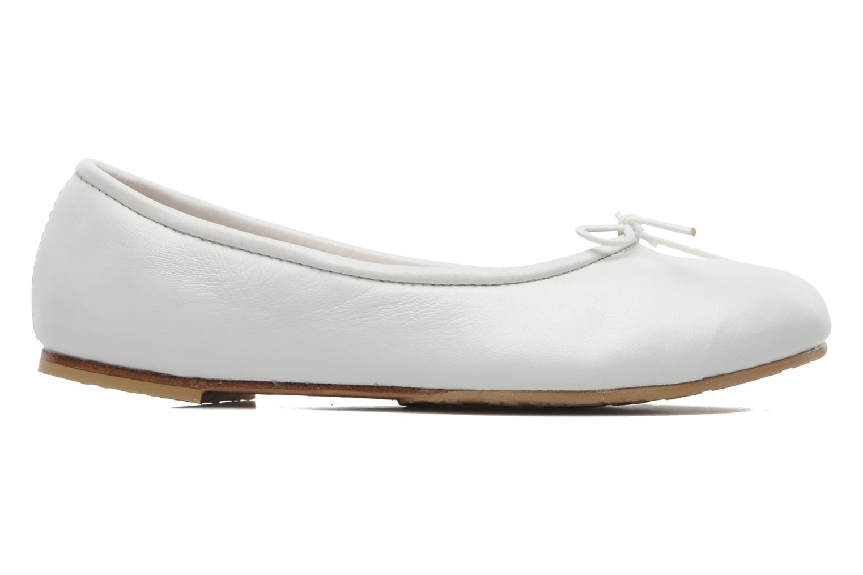 Ballet pumps Bloch Girls Arabella White back view