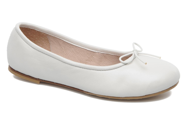 Ballet pumps Bloch Girls Arabella White detailed view/ Pair view