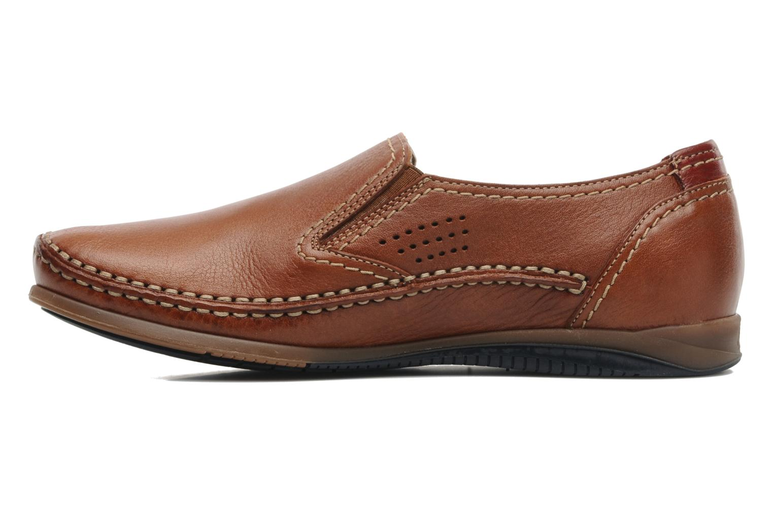 Loafers Fluchos Catamaran 8565 Brown front view