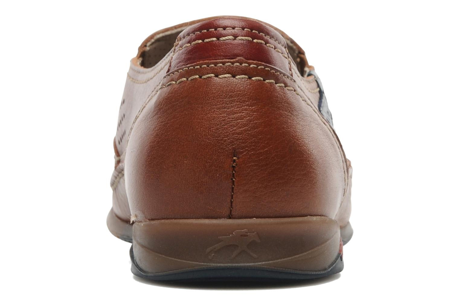 Loafers Fluchos Catamaran 8565 Brown view from the right