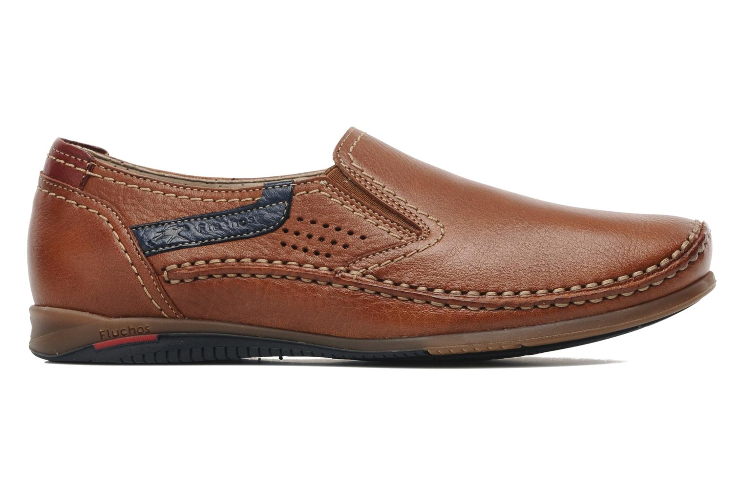 Loafers Fluchos Catamaran 8565 Brown back view