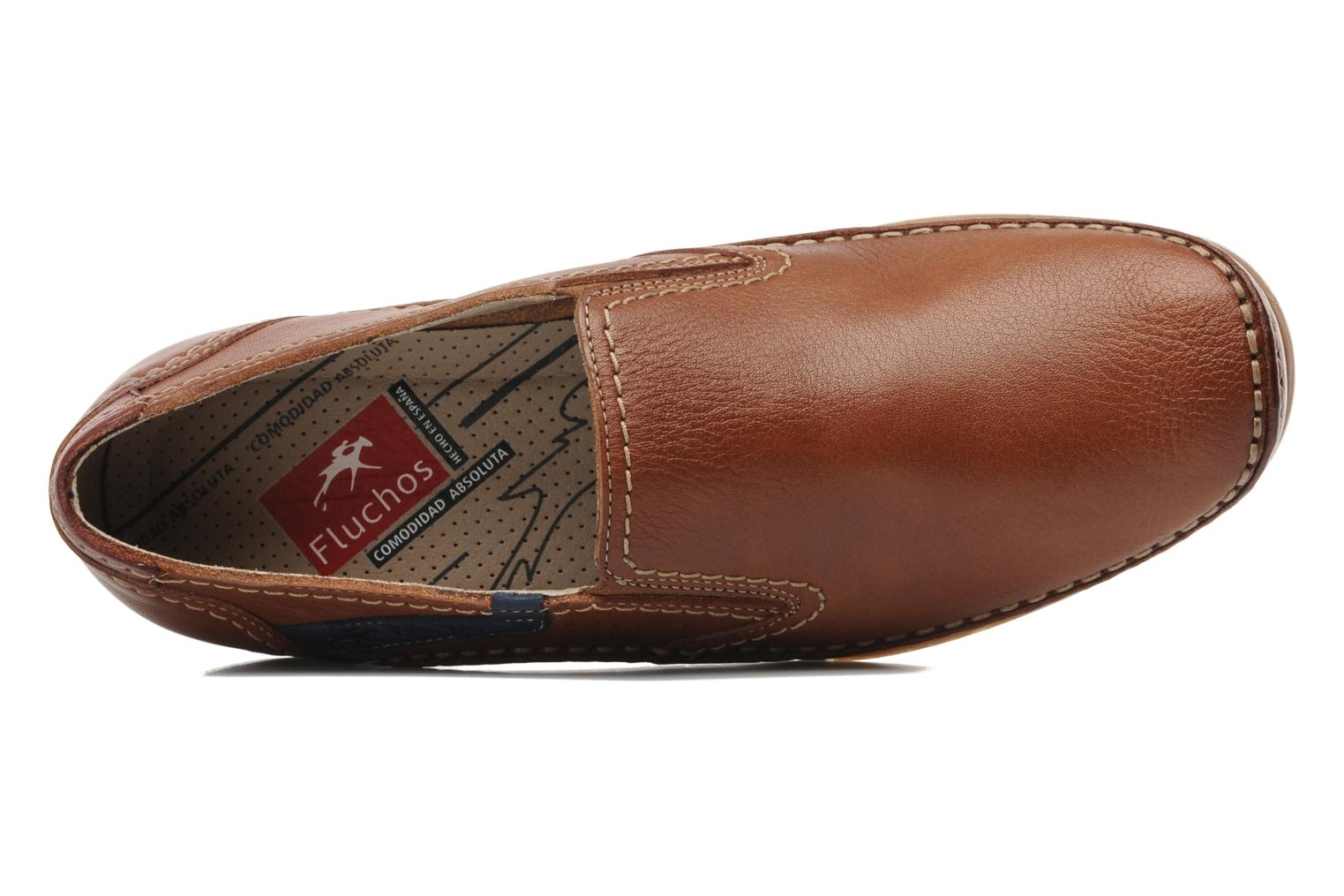 Loafers Fluchos Catamaran 8565 Brown view from the left