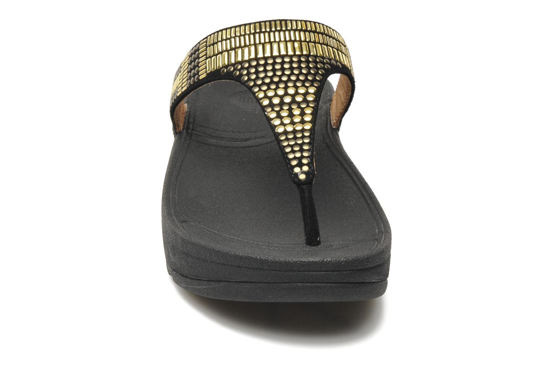 Tongs FitFlop Aztec Chada Noir vue portées chaussures