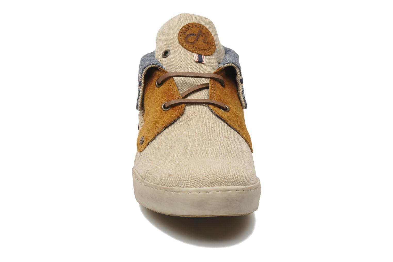 Schnürschuhe Mascaret Panisse Jute beige schuhe getragen