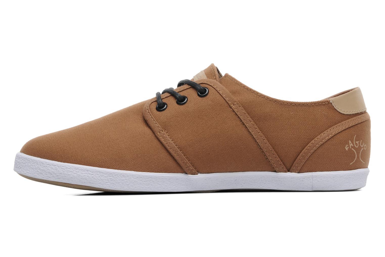 Sneakers Faguo Cypress Bruin voorkant