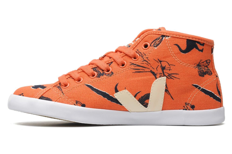 Baskets Veja Taua Mid Orange vue face