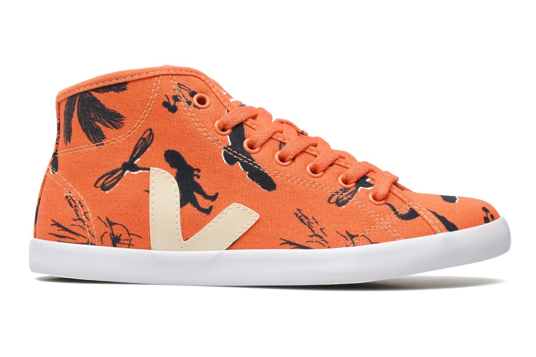 Sneakers Veja Taua Mid Oranje achterkant
