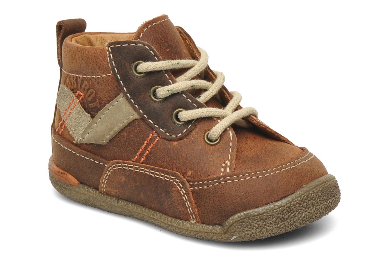 Stiefeletten & Boots Babybotte Fabio braun detaillierte ansicht/modell