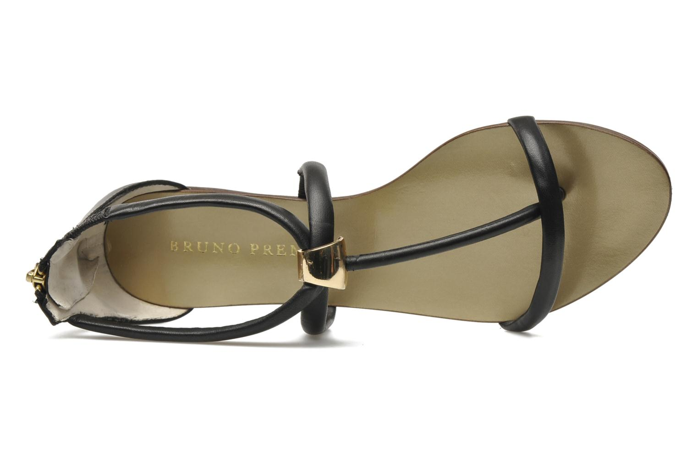 Sandales et nu-pieds Bruno Premi Fara Noir vue gauche