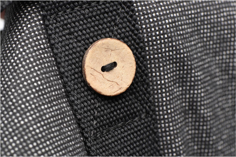 Sacs de sport Faguo Duffle Coton Noir vue gauche