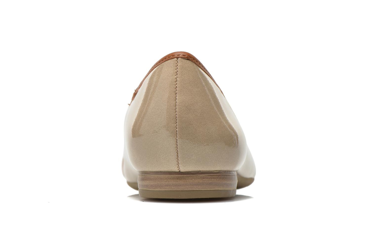 Ballet pumps Marco Tozzi Macha Beige view from the right