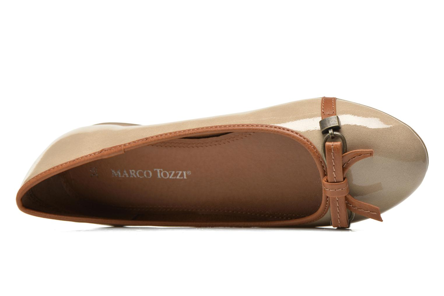 Ballet pumps Marco Tozzi Macha Beige view from the left