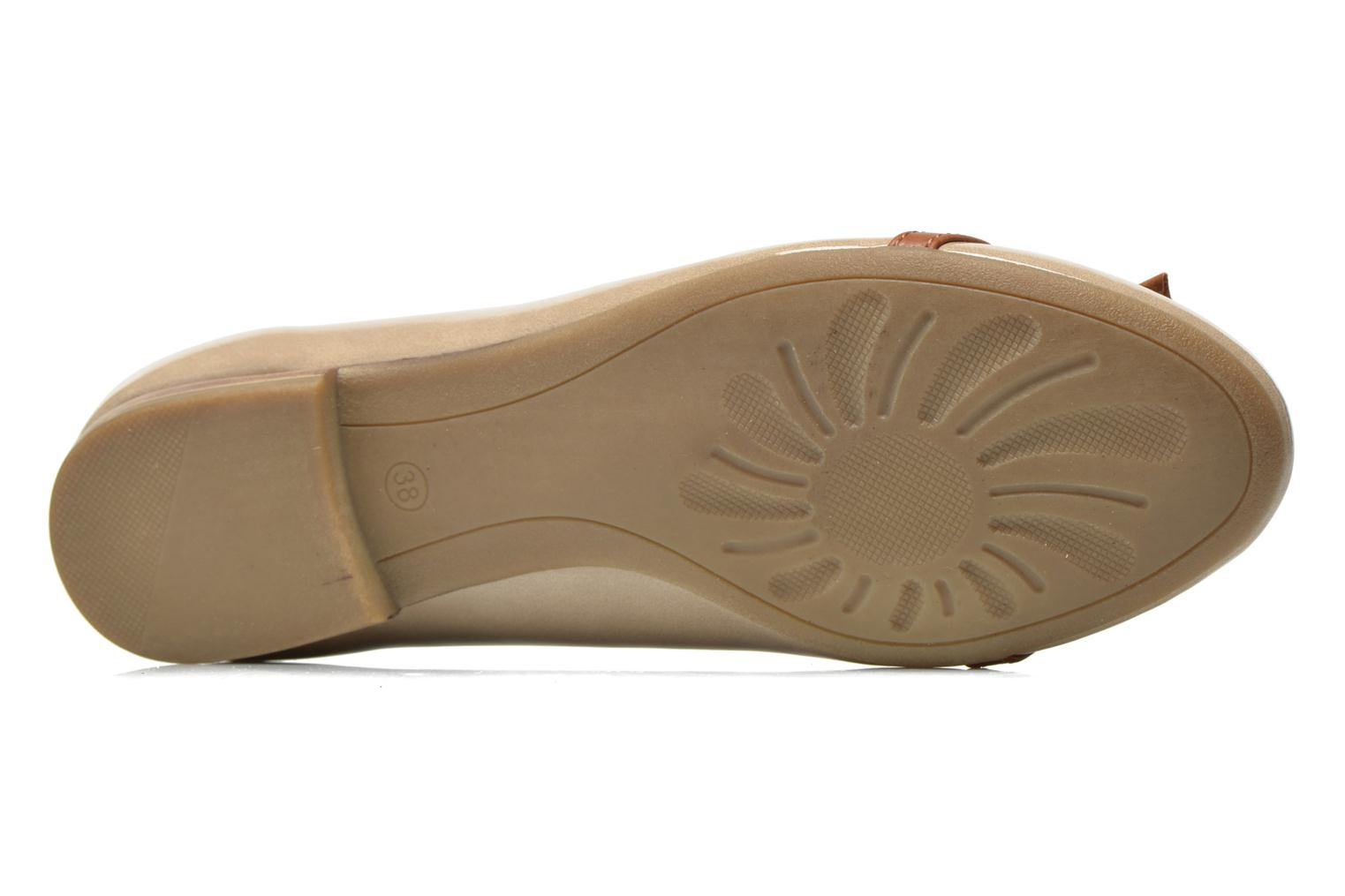 Ballet pumps Marco Tozzi Macha Beige view from above