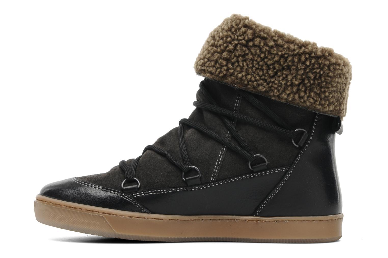 Bottines et boots Le temps des cerises Mountain Noir vue face