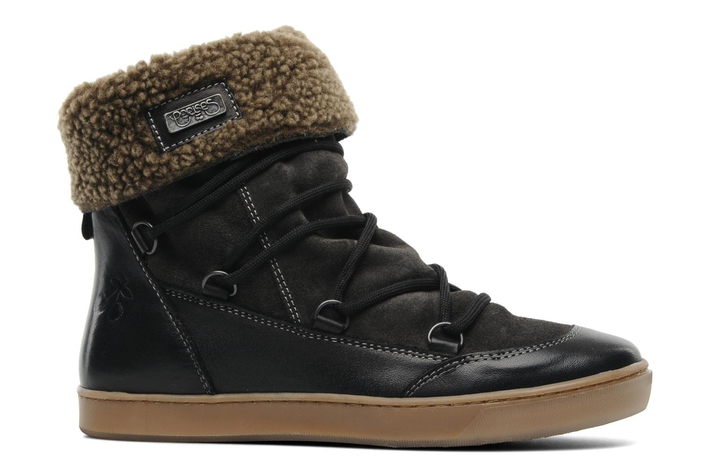 Bottines et boots Le temps des cerises Mountain Noir vue derrière
