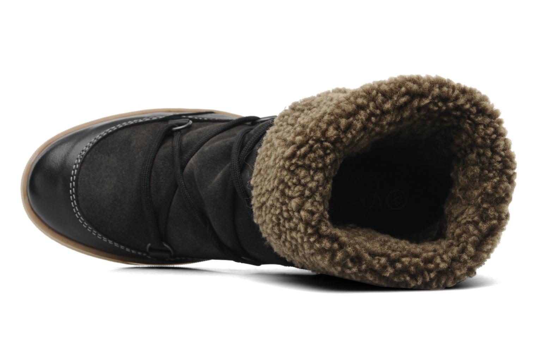 Bottines et boots Le temps des cerises Mountain Noir vue gauche