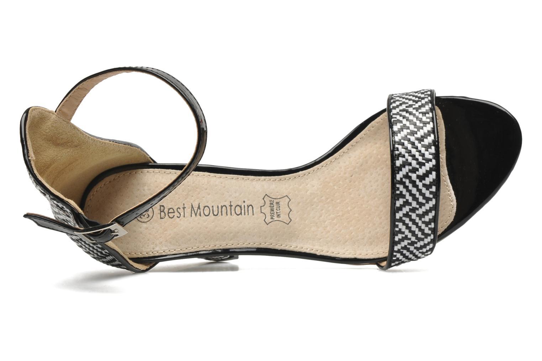 Sandales et nu-pieds Best Mountain Mocatre Multicolore vue gauche