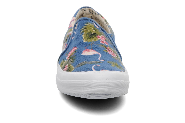 Baskets Paul & Joe Shade Bleu vue portées chaussures